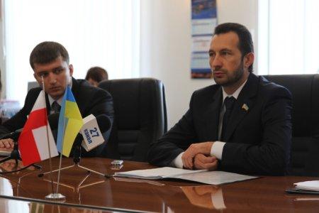 Андрей Федорук встретился с послом Республики Польша в Украине Генриком Литвиным