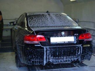 Автомойщик разбил BMW клиента