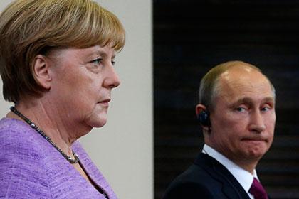 Путин и Меркель в очередной раз обсудили ситуацию на Украине