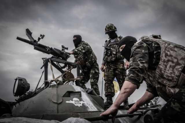 Украинский батальон превращается в вооруженную банду - Москаль