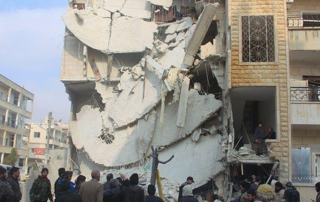 В Сирии в следствии авиаударов погибло более 70 человек