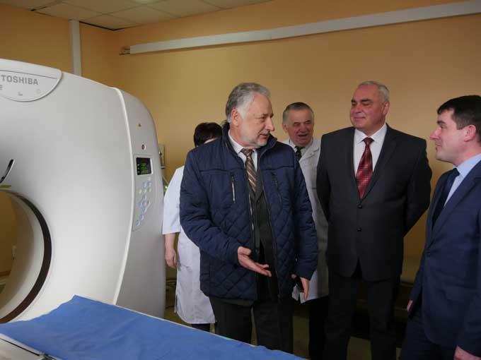 В Славянске начал работу кабинет компьютерной томографии