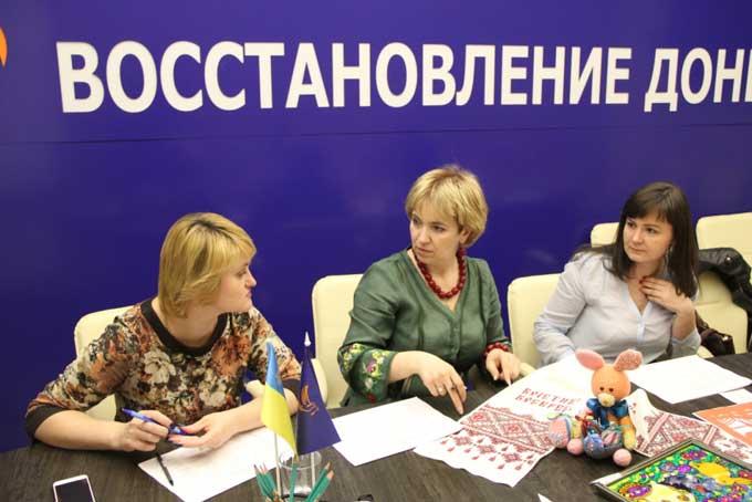 Киевлянам покажут духовный Донбасс