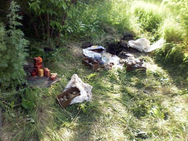 Вблизи Соледара найден схрон боеприпасов
