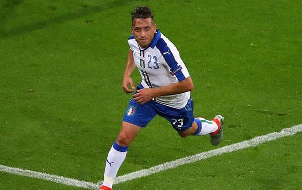 Италия обыгрывает Бельгию со счетом 2:0