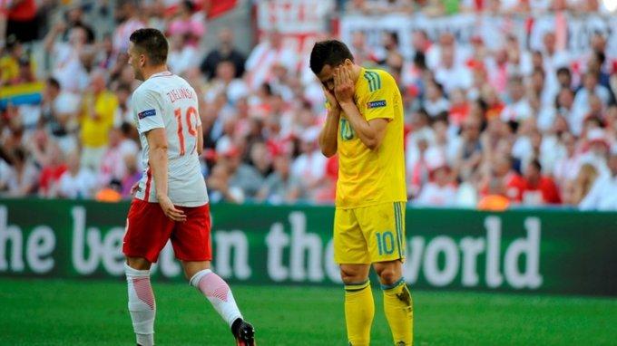 Польша преподнесла очередное поражение Украине на ЕВРО - 2016