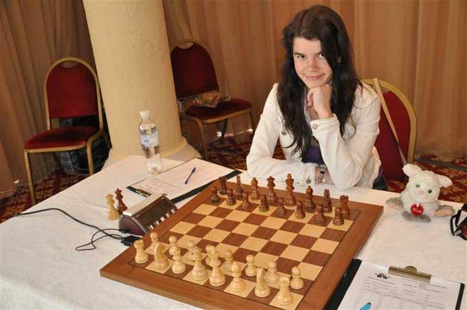 Краматорская шахматистка – победительница командного чемпионата Европы среди девушек до 18 лет