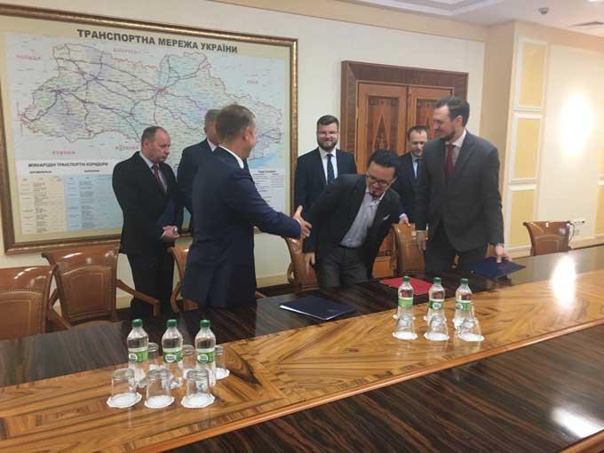«Артемсоль» подписала трехсторонний меморандум о сотрудничестве с «Укравтодором» и «Укрзализныцей»