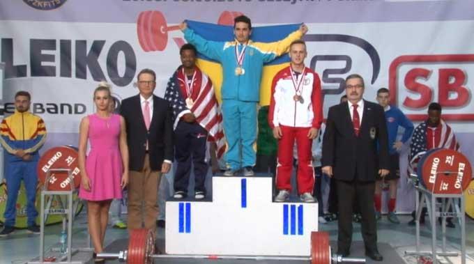 Пауэрлифтеры Донецкой области – среди лучших на чемпионате мира по пауэрлифтингу в Польше