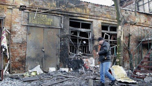 В Петровском районе из-за обстрела разрушено 9 домов