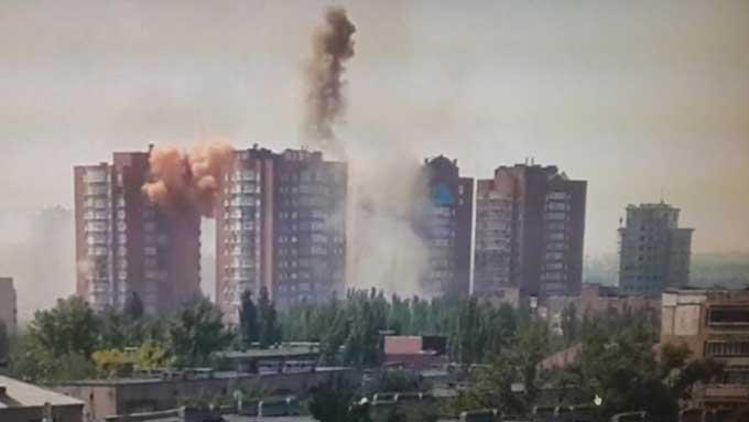 В Донецке за время конфликта повреждено порядка 10,5 тыс. домостроений