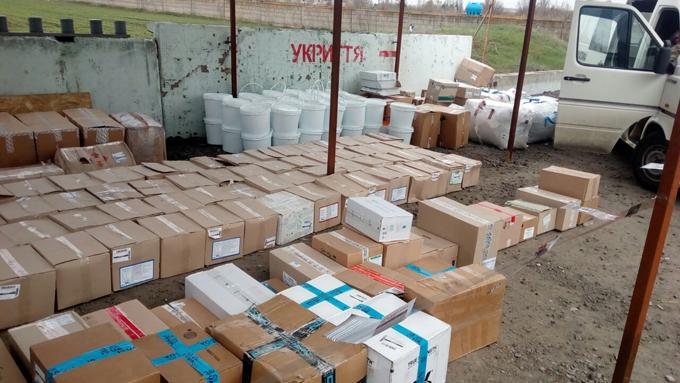 Жители Донецка пытались перевезти В ДНР товаров более чем на миллион гривен