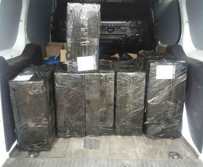 Налоговой милицией Донетчины из незаконного обращения изъяты контрафактные табачные изделия на 70 тысяч гривен