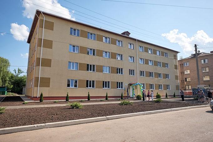В Краматорске открыли общежитие для ВПЛ