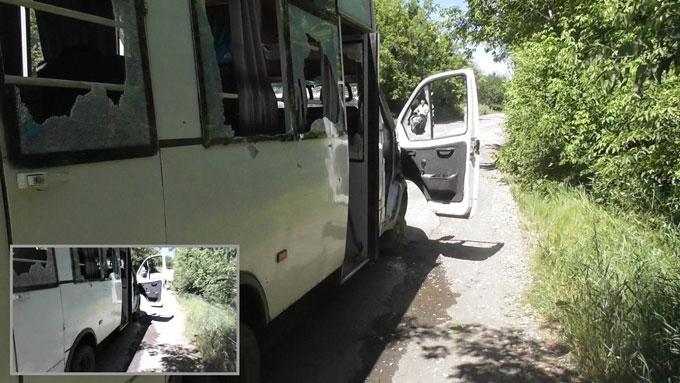В ЛНР обстреляли пассажирский автобус - есть пострадавшие