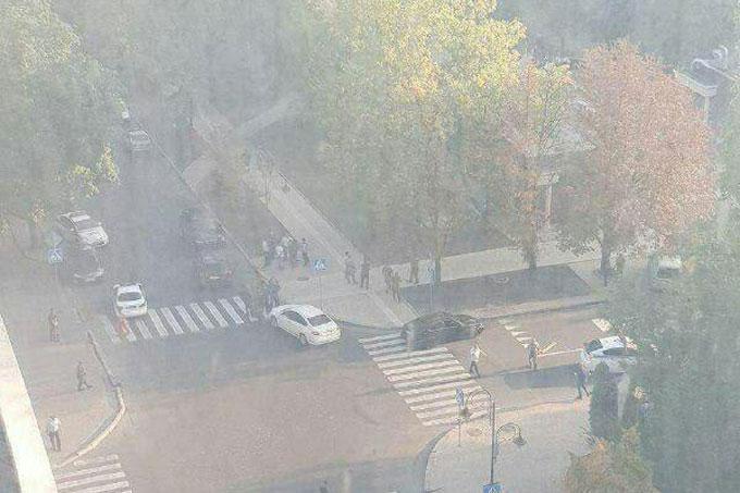 В центре Донецка в ресторане произошел взрыв - есть пострадавшие