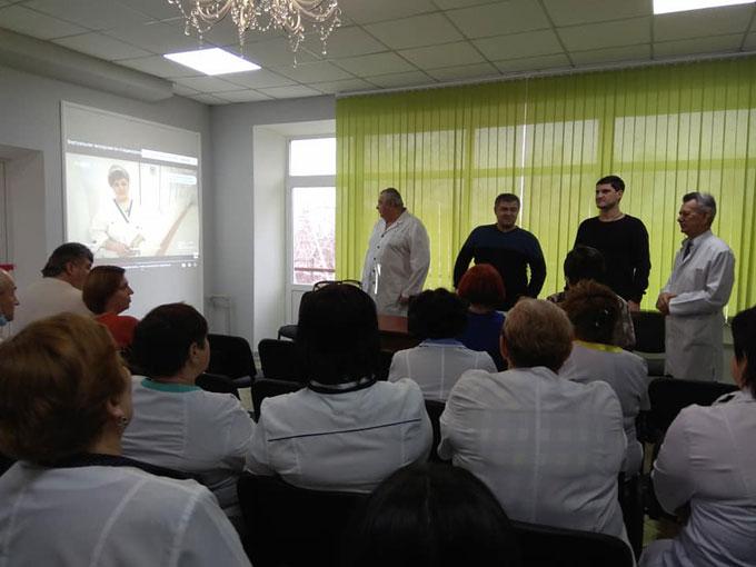 ДТЭК оборудовали современный кабинет в городской больнице Курахово