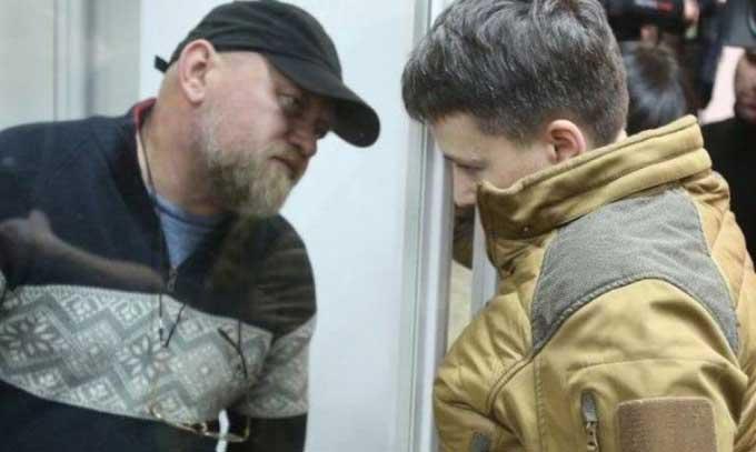 Савченко и Рубана будут судить в Славянске