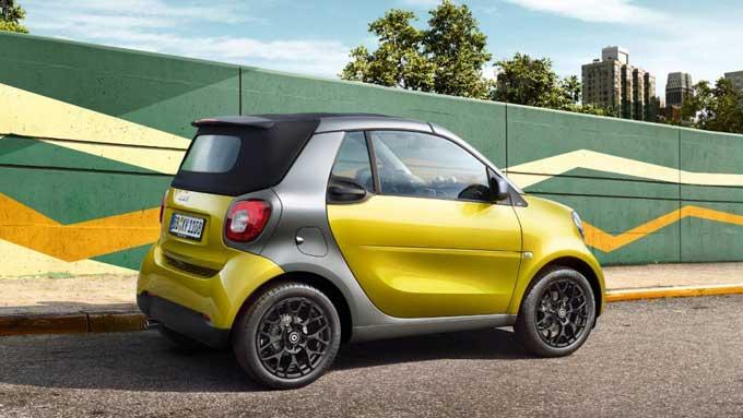 Smart fortwo cabrio: будущее преображение – не за горами
