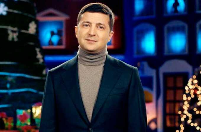 Новогоднее обращение Владимира Зеленского перессорило украинцев
