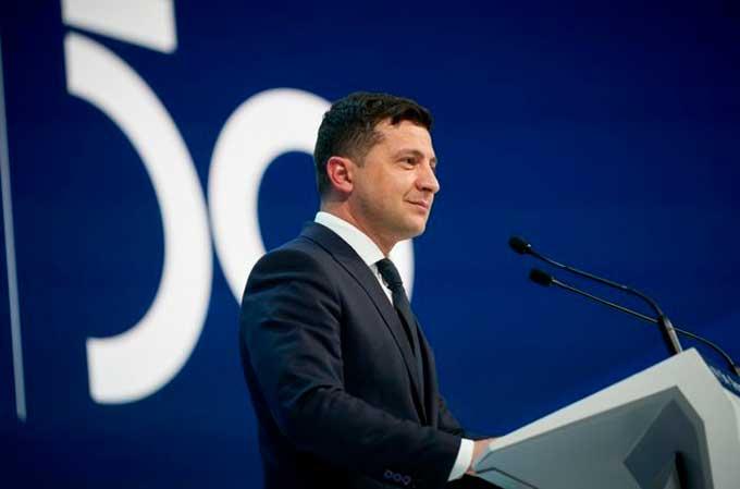Зеленский в Давосе рассказал, когда закончится война на Донбассе