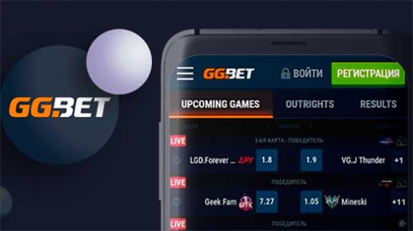 Мобильная версия и официальный сайт онлайн казино GGbet