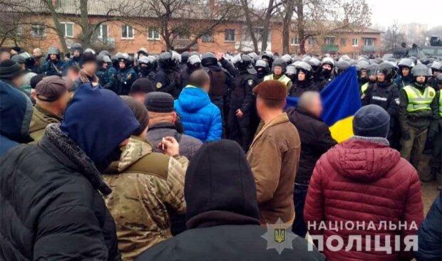 Украинцы восстали против эвакуированных из Китая