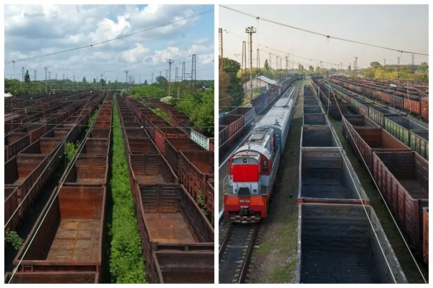 Оккупанты испоганили железнодорожное сообщение Донецка, фото последствий