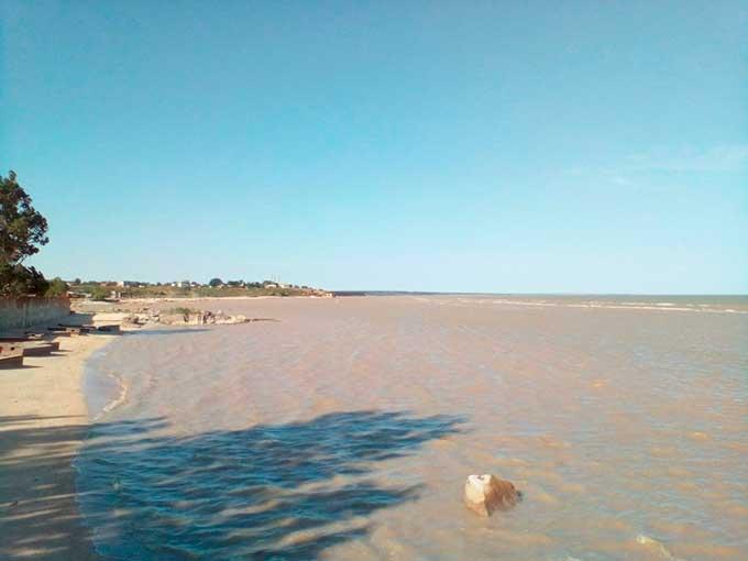 Вот так сейчас выглядит Седово - морской курорт ДНР