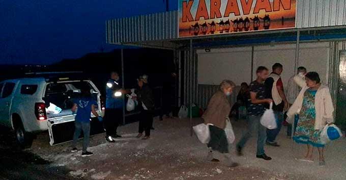 Ситуация повторилась. ДНР не пропустила: У КПВВ «Новотроицкое» ночевали люди
