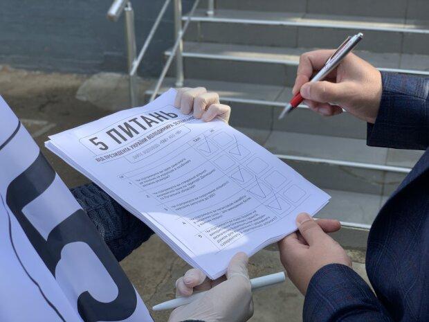 Пять вопросов от президента Зеленского: появились результаты всеукраинского опроса