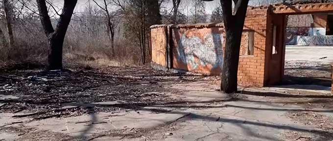 В Сети показали парк Кирова в Макеевке. Просто разруха