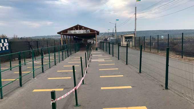 На КПВВ «Станица Луганская» началось сооружение многофункциональной сервисной зоны