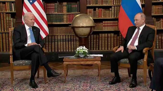 Байден назвал Россию великой державой