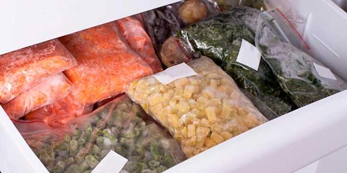 10 продуктов, которые необходимо хранить в морозильнике